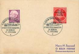 1954  Wahl Des Bundespräsidenten  MiNr 118 - Berlin (West)