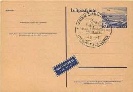 Luftpostkarte  MiNr  P 16a - Postales - Usados