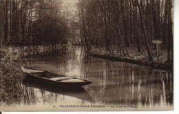 Cpa 94 - Villeneuve Saint-Georges - 17 Les Bords De L'Yerres - Villeneuve Saint Georges