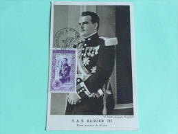 S.A.S RAINIER III, Prince Souverain De MONACO - Royal Families