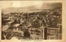 LIBAN - BEYROUTH - VUE GENERALE. - Liban