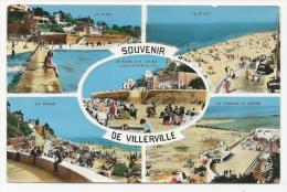 CP, 14, Souvenir De Villerville, Vierge - Villerville