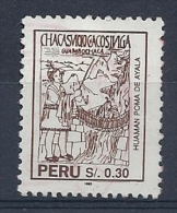 130605004  PERU  YVERT  Nº  1011 - Peru