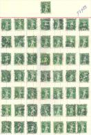 3n-925: Leftover From 50 Stamps:  N° 110 : 5 C - Gebruikt