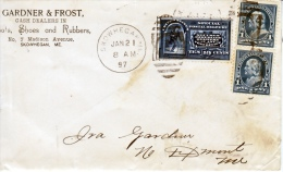 U.S.  POSTAL HISTORY COVER  SPECIAL  DELIVERY    RXR  CHANGE To  RPO  1897 - Covers & Documents