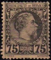 MONACO    8(o) Prince Charles III * MLH [cote 420 €] - Monaco