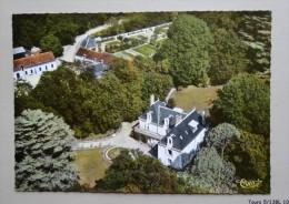 37 -  LUZILLE - Le Chateau De Beauchène  - Vue Aerienne - France