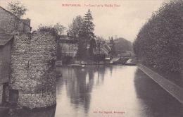 Cp , 45 , MONTARGIS , Le Canal Et La Vieille Tour - Montargis