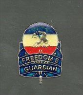 PINS PIN'S MILITAIRE ARMEE PARA LEGION FREEDOMS GUARDIAN BALLON - Militari