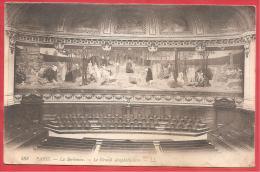 CARTOLINA VIAGGIATA FRANCIA - PARIGI - SORBONNE - Grand Amphitheatre  - 9 X 14 Cm - ANNULLO 09 - 10 - 1915 - Education, Schools And Universities