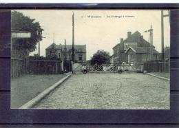 CP Waremme.Le Passage à Niveau.1910. - Waremme