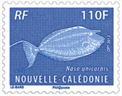 Nouvelle-Calédonie 2013 - Faune Marine, Poisson Dawa - 1val Neufs // Mnh - Nueva Caledonia