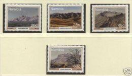1991 Namibia (ex SWA) - Mountains 4v., Scenic Views, Michel 707/10  MNH - Vulkane