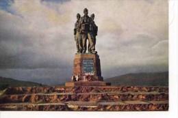 INVERNESS - The Commando Memorial At Spean Bridge By W S Thomson M210 - Inverness-shire