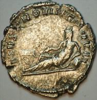 POSTUME (260-269) : ANTONINIEN (BILLON : 3.30 Gr.) REVERS  GENIE DU RHIN TREVES TTB - 5. L'Anarchie Militaire (235 à 284)