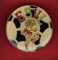 30147-Pin's  Etoile Sportive Villeneuve Loubet Football E.S.V.L. - Football