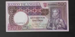 ANGOLA  500  ESCUDOS  1973     -    (Nº02950) - Angola