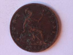 Grande-Bretagne 1 Penny 1884 - 1816-1901 : Frappes XIX° S.