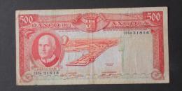 ANGOLA  500  ESCUDOS  1970     -    (Nº02953) - Angola