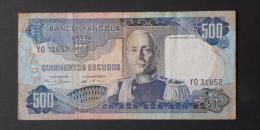 ANGOLA  500  ESCUDOS  1972     -    (Nº02954) - Angola
