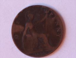 Grande-Bretagne 1 Penny 1895 - 1816-1901 : Frappes XIX° S.
