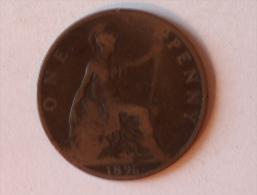 Grande-Bretagne 1 Penny 1896 A - 1816-1901 : Frappes XIX° S.