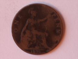 Grande-Bretagne 1 Penny 1896 B - 1816-1901 : Frappes XIX° S.