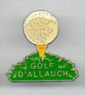 PINS PIN´S SPORT GOLF INTERNATIONNAL ALLAUCH - Golf