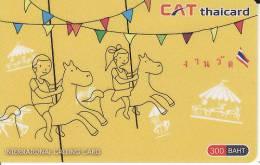 Thailand  Phonecard Cat Telecom Kat. 5506 Riding - Thaïlande