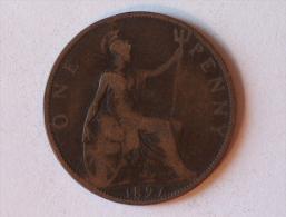 Grande-Bretagne 1 Penny 1897 A - 1816-1901 : Frappes XIX° S.