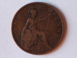 Grande-Bretagne 1 Penny 1899 - 1816-1901 : Frappes XIX° S.