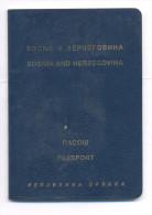 EXPIRED PASSPORT OF REPUBLIC OF SRPSKA (BiH) ISSUED IN PRIJEDOR ON 20.01.2000. - Historische Documenten