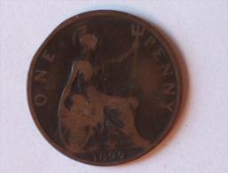 Grande-Bretagne 1 Penny 1899 A - 1816-1901 : Frappes XIX° S.