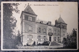 (36).SAINT-GAULTIER.      CHATEAU DES COTES.CIRCULE 1915. - Francia