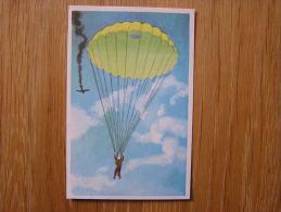 FAMILIA  Parachute Moderne Chromo Numéro  291   Trading Card Vignette Chromos - Chromos
