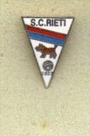 Pq1 Pin A.S. Rieti Calcio Distintivi FootBall Pins Soccer Pin Spilla Italy  Lazio - Calcio