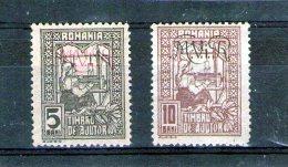 1918 - OCCUPATION ALLEMANDE/Timbres Aide Supplémentaire Mi 1/2 (KRIEGSSTEUERMARKE) - Besetzungen