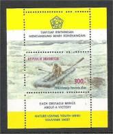 Indonesia - ZB 988 / Scott 1072A (mint)    Sport - Rafting