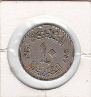 10 MILLIEMES AH1357 1938 - Egypte