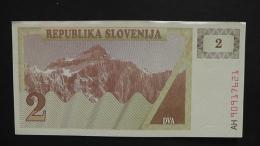 Slovenia - P 2a - 2 Tolarjev - 1990 - P 2a - XF+ - Look Scan - Slowenien