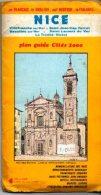 PLAN GUIDE DE NICE ET SA BANLIEUE-1986 - Cartes