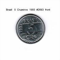 BRAZIL   5  CRUZEIROS  1993  (KM # 627) - Brazil