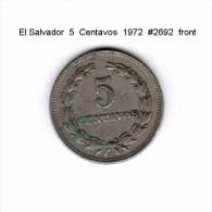 EL SALVADOR   5  CENTAVOS  1972  (KM # 149) - El Salvador