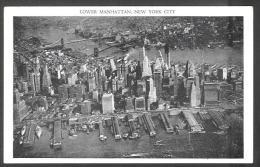 USA - 4 Cartes - 3 Scan - New-York - Lower Manhattan - Rockefeller Center - Non Classés