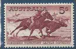 1961 AUSTRALIE 274** Bouvier, Cheval - Mint Stamps