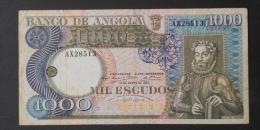 ANGOLA  1000  ESCUDOS  1973     -    (Nº02958) - Angola