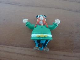 "Figurine ""Abraracourcix"" (bridelix Plastoy 1999) GOSCINNY - UDERZO (Asterix) Hauteur : 4 Cm"