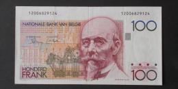 BELGIUM  100  FRANCS  1978-81     -    (Nº02961) - 100 Francs