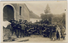 Mobilisation  (Habay La Neuve ??) - Guerre 1914-18