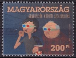 2012 - Hungary - 3D Eyeglasses - Movie Popcorn Cinema - Télécom